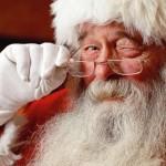 Le Père Noel aux Rousses