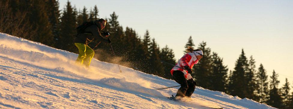 Le ski à Noirmont aux Rousses dans le Jura