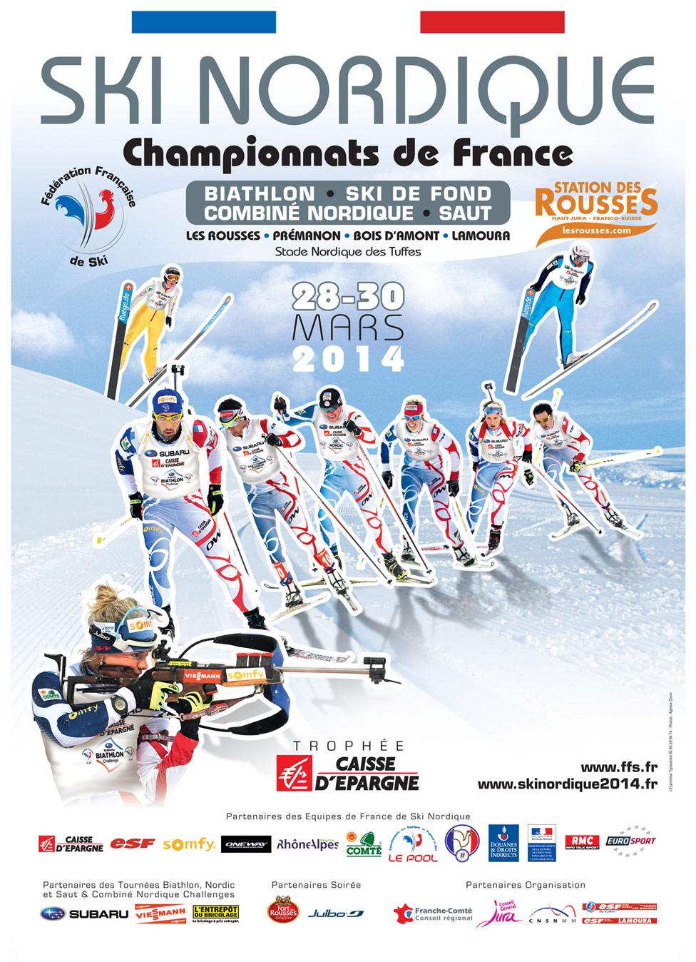 Championnat de ski nordique 2014